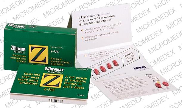 Side Effects Of Z Pack Antibiotics